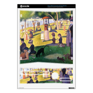 Sunday at La Grande Jatte by Georges Seurat Xbox 360 S Skins