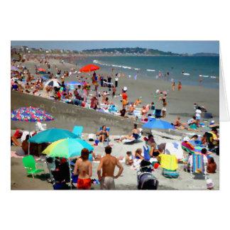 Sunday at Nantasket Beach Greeting Card