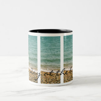 Sunday at the beach - feel good Mug