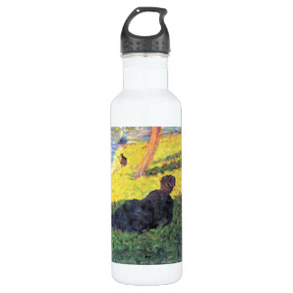 Sunday at the Grand Jatte, study 2 by Seurat Water Bottle