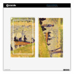 Sunday at the Grand Jatte, study by Georges Seurat Skin For Kindle Fire