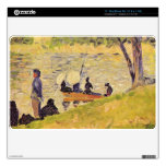 Sunday at the Grand Jatte, study by Georges Seurat MacBook Skin