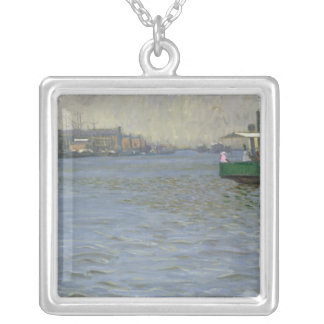 Sunday Atmosphere on the Elbe Silver Plated Necklace