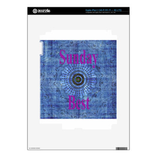 Sunday Best Decal For iPad 3