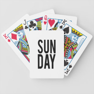 Sunday Bicycle Playing Cards