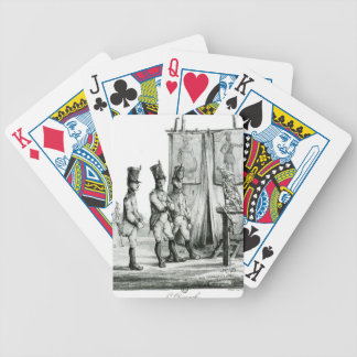 Sunday by Honore Daumier Bicycle Playing Cards