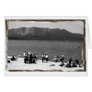Sunday by the Shore Card