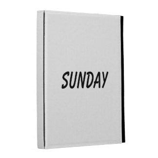 sunday iPad folio cover