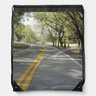 Sunday Drive Drawstring Backpack