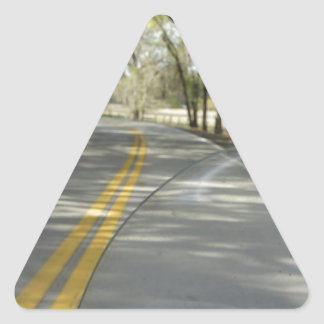 Sunday drive triangle sticker