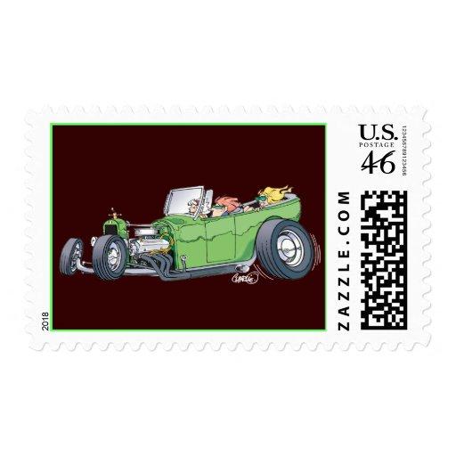 Sunday Driver Stamp