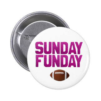 Sunday Funday 2 Inch Round Button