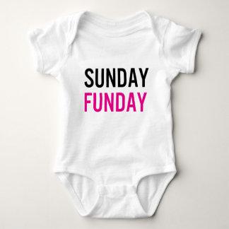 Sunday Funday Baby One Piece Tshirt