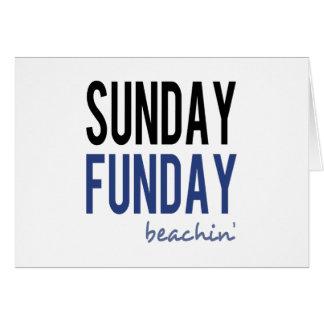 Sunday Funday Beachin' Card