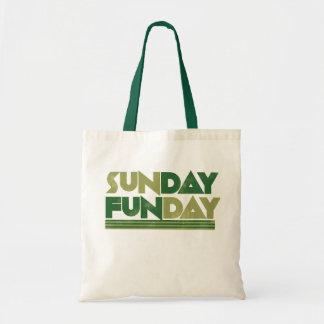 Sunday Funday Budget Tote Bag