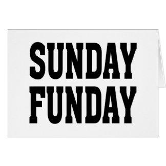 Sunday Funday Card