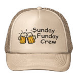 Sunday Funday Crew Beer Hats