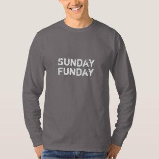 Sunday Funday Crew Long sleeve Tee Shirt