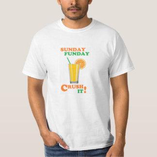 Sunday Funday - Crush It! T-Shirt