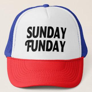 Sunday Funday funny hat