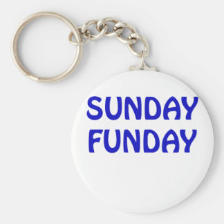 Sunday Funday Keychain