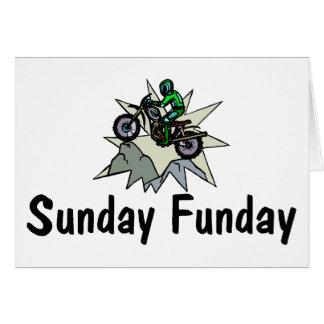 Sunday Funday Motorcycle Card