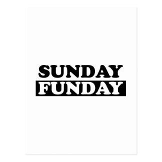 Sunday Funday Postcard