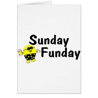 Sunday Funday Smiley Card