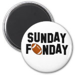 Sunday Funday with football Magnet