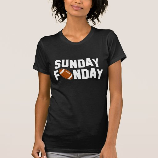 Sunday Funday with football T-shirt