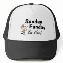 Sunday Funday Yee Haw Trucker Hat
