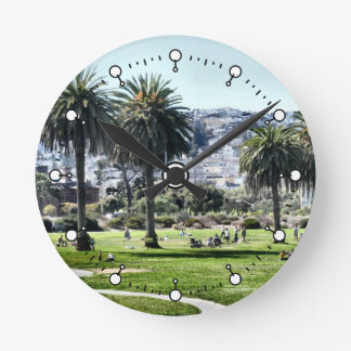 Sunday In The Park Round Clock