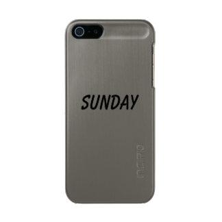 sunday metallic phone case for iPhone SE/5/5s