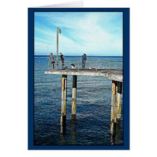 Sunday Morning Fishing Card