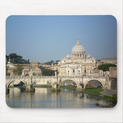 Sunday Morning in Rome Mouse Pad