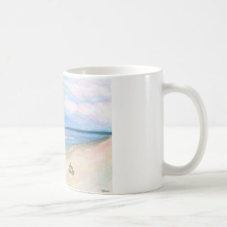 Sunday Morning on Flagler Beach Classic White Coffee Mug