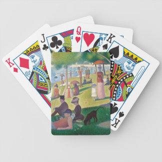 Sunday on La Grande Jatte Bicycle Playing Cards