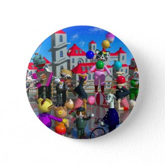 Sunday Pinback Buttons
