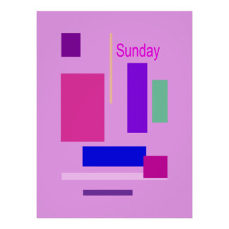 Sunday Posters