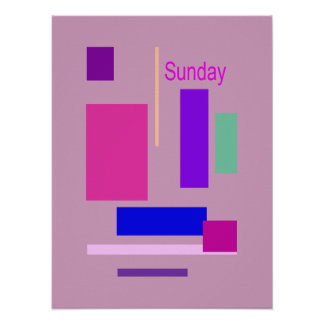 Sunday Poster