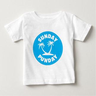Sunday Punday Palm Tree Baby T-Shirt