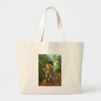 Sunday Ride Canvas Bag
