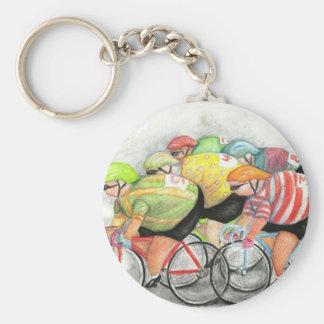 Sunday Ride Keychain