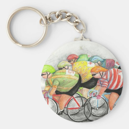 Sunday Ride Keychain