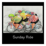 Sunday Ride Poster