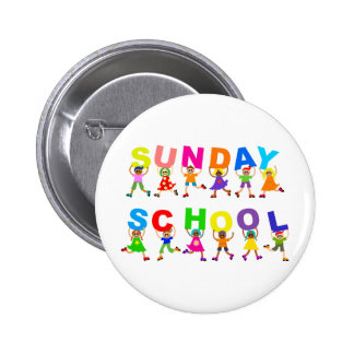 Sunday School Button