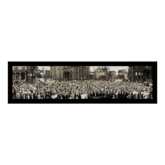 Sunday School Chicago Photo 1914 Poster