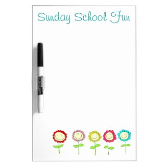 Sunday School Dry Erase Board by QuoteLife