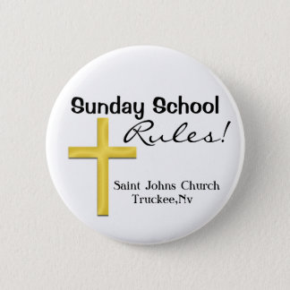 Sunday School-Holy Cross Button