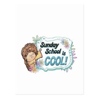 Sunday School is COOL Postcard